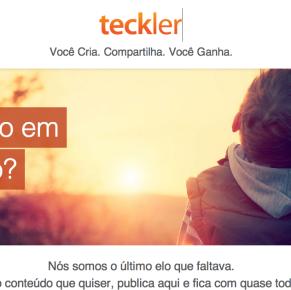 Rede social Teckler vai pagar a quem publicar conteúdo nela